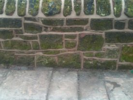 AFTER SANDSTONE WALL REPOINTING