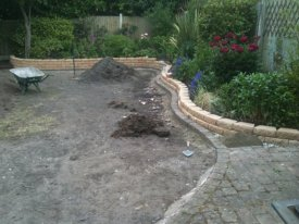 BEFORE TURFING