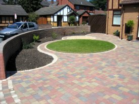 AFTER FLUID BLOCK PAVING DRIVEWAY GRASSENDALE